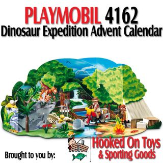 Playmobil 4162 Dinosaur Expedition Christmas Advent Calendar 70pcs