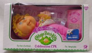 Cabbage Patch Kids Doll 25 Year Celebration Damaged Box Wal Mart Exclusive