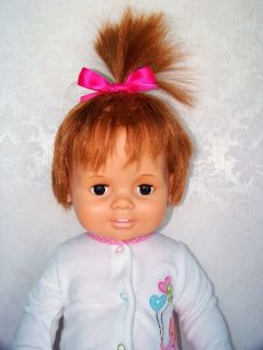 "1972 Ideal Large 24"" Baby Crissy Doll Hair Grows"