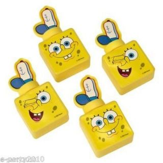 4 Spongebob Squarepants Mini Bubbles Birthday Party Supplies Favors