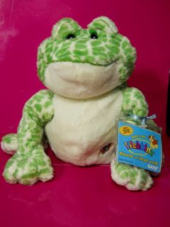 Webkinz Spotted Frog HM 142 Plush Stuffed Animal Toy