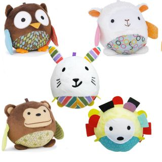 Plush Soft Toy Infant Baby Children Kid's Animal Mini Plush Soft Cloth Ball Toys