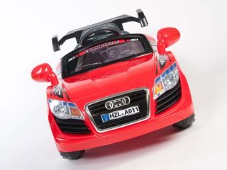 Audi R8 GT Style Kids 12V Electric Power Wheels Ride on Race Car  RC Remote