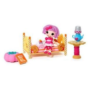 Dollhouse Girls Mini Lalaloopsy Playset Bed Toy Gift Kids Children New Fast S