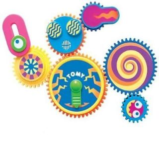 Tomy Gearation Refrigerator Magnets Building Toy Kids Play Children Pretend Game