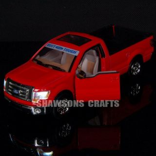 Diecast 1 32 Sound Light Pull Back Ford F150 Raptor Model Car Replica