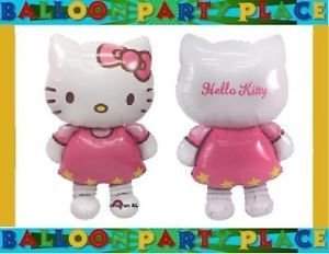 Hello Kitty Airwalker Balloon Party Decoration Supplies Pink Birthday Shower