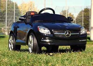 Black Mercedes Benz Ride on Power Wheels Toy Car Remote Control