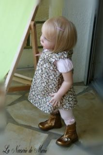 Reborn Toddler Baby Girl Doll Prototype Jannie de Lange Andres Kit