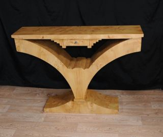 Walnut Art Deco Console Table 1920s Furniture Interior Design