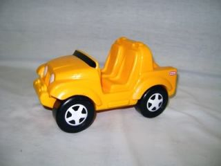 Little Tikes Yellow Jeep Replacement Semi Tractor Truck