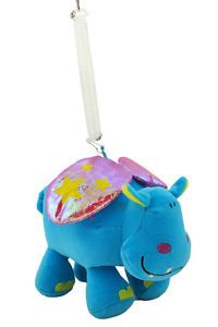 Happy House Bouncing Hippo Plush Baby Toy