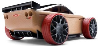 Automoblox C9 R Sports Car Kids Wooden Building Block Toy 990098 New