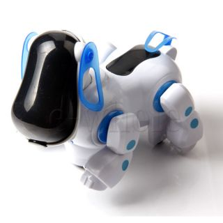 Robot Electronic Robotic Pet Dog Walking Puppy Kids Toy Children Boys Girls Be
