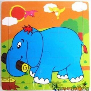 New Hot Child Kid Wooden Wood Animal Plane Puzzle Jigsaw Baby Intellectual Toy