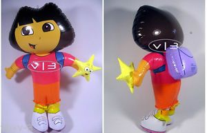 Dora The Explorer Figure Doll Inflatable Blow Up Kids Toys Party Favor Decor 24""