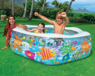 Intex Ocean Reef Inflatable Kids Swimming Pool 56493EP