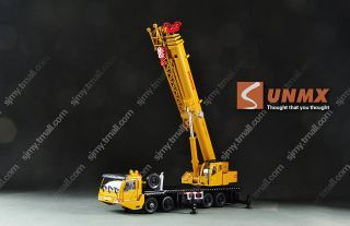 Heavy Duty Diecast Crane Rotation Full Metal Exquisite Alloy Car Truck Model Toy