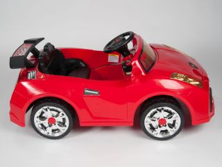 Red Lambo Kids Ride on RC Car Remote Control Electric Power Wheels