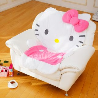 "Hello Kitty Soft Doll Multi Sofa Cover Rug Carpet 33 46 x 48 42"" Japan Gift F S"