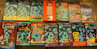 400 VHS Blue's Clues ABCs 123s Big Musical Movie Story Time Arts Crafts Rhythm