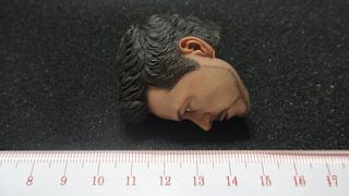 Hot Toys 1 6 Iron Man 3 Tony Stark Workshop Armor Test Ver Head Sculpt