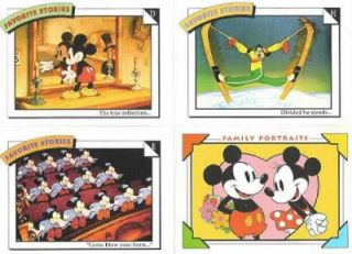 Disney Collector Cards Impel 1991 Trading Card Set