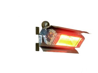 02110 Fire Sense Stainless Steel Wall Mounted 1500 Watt Infrared Patio Heater