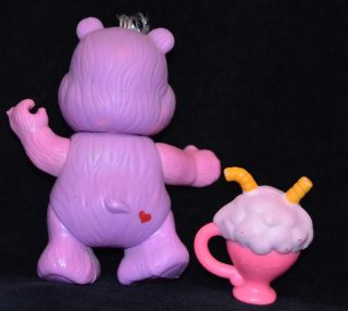 "Complete Vintage Kenner Share 1984 Care Bear 3"" Poseable Figure Accessory FIG1C"