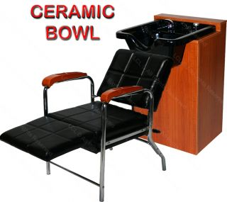 Hydraulic Barber Chair Station Shampoo Bowl Hair Dryer Beauty Salon Equipment