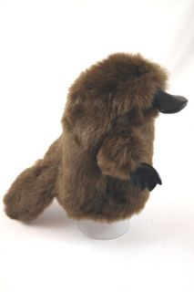 Platypus Hand Puppet Soft Stuffed Plush Toy New