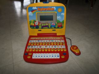 Just Kidz Explorathon Laptop Computer Kids Toy Learning Numbers Letters