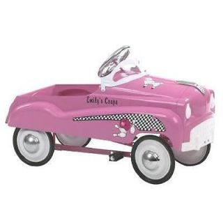 Instep Pink Pedal Car Kid's Girl's Solid Steel Frame Ride on Riding Toy Child
