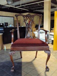 Giant Huge Big Chair 6 1 2' Tall Wood Custom Antique Display Chair