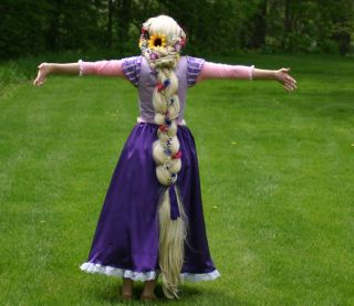 Cute Thick Blonde Rapunzel Tangled Cosplay Princess Theater Quality Costume Wig
