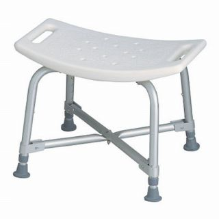 Medline Heavy Duty Shower Bath Bench Chair Seat Stool