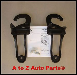 New 2009 2012 Dodge RAM 1500 Tow Hooks Complete Tow Hook Package Mopar