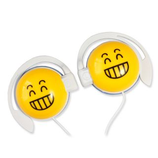 On The Ear Cute Smile Angry Dizziness Laughter Boys Girls Kids Earphones iPod