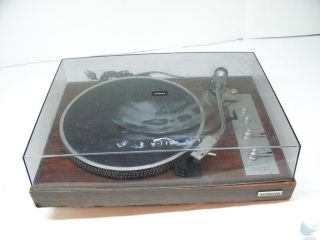 Hitachi PS 48 Direct Drive Uni Torque Turntable Record Player Phono for Parts