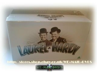 Laurel and Hardy 21 Disc DVD Big Phat Box Set New SEALED 5050582226805
