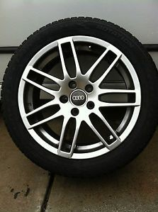"Audi Four 17"" Winter Tires and Wheels High Performance Winter Package"
