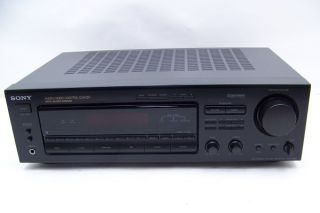 Sony Str D665 500 Watt Stereo Home Theater Receiver Dolby Surround Prologic