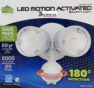 Home Zone LED Motion Activated Security Light 2042