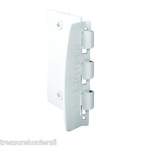 Prime Line Products U Door Lock Flip Action Home Safety Security Jamb White Kids