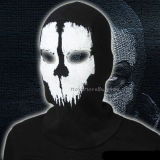 Replica Ghost Full Face Mask Ski for Call of Duty Ghosts High Quality New