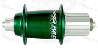 Chris King Rear Classic Cross Hub 36h Green Hubs Classic Cross High Flange