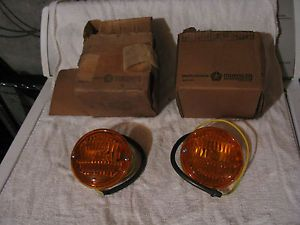 Mopar 1960's Dodge Truck Park Light Lamps