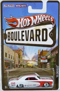 Hot Wheels Boulevard Series 2012 '66 Chevelle 1 64 Scale Die Cast Vehicle