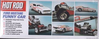 Ford Mustang Hot Rod Magazine Funny Car MPC 1 25th Plastic Model Kit