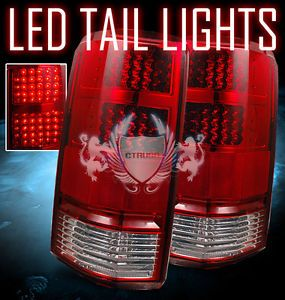 Dodge Nitro LED Tail Lights